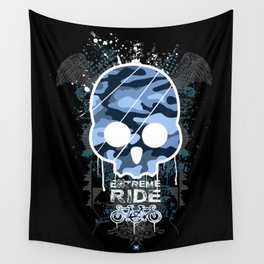 Extreme ride Wall Tapestry