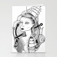 sailor Stationery Cards featuring SAILOR by • PASXALY •