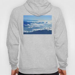 Mountains and Clouds in Nepal Hoody