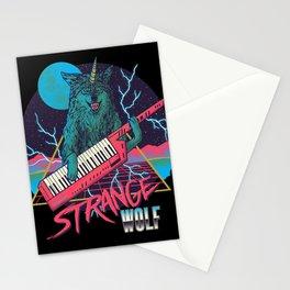 Strange Wolf Stationery Cards
