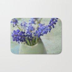 Grape Hyacinths Bath Mat