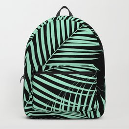 Palm Leaves - Mint Cali Vibes #1 #tropical #decor #art #society6 Backpack