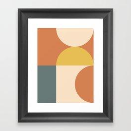 Abstract Geometric 04 Framed Art Print