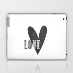 Home, Love, Illustration, Heart,  Laptop & iPad Skin