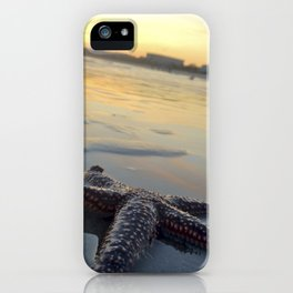 Starfish on the Beach iPhone Case