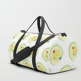 Ladybirds on the Vine Duffle Bag