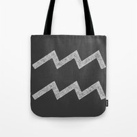 aquarius Tote Bags featuring Aquarius by David Zydd