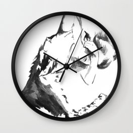 I belong to the mountains Wall Clock
