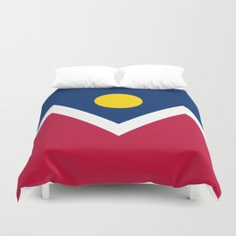 Denver, Colorado city flag - Authentic High Quality Duvet Cover