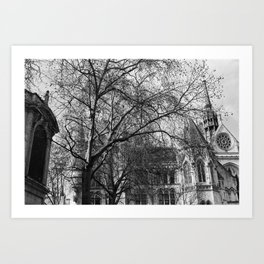 Into The Trees 08 - Temple Art Print