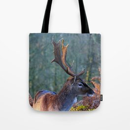 Stag Leader of the Herd 3 Tote Bag