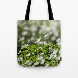 Flowers to Mum Tote Bag