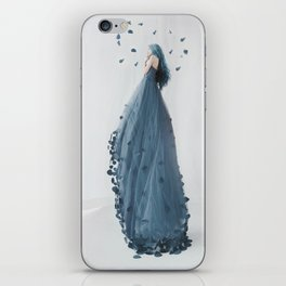 Only you can create your own world iPhone Skin