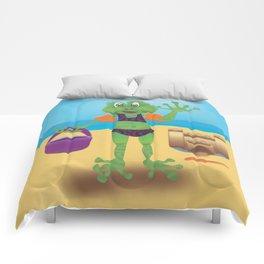 Waving Frog Comforters