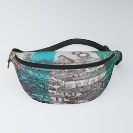Lucca  roofs Fanny Pack
