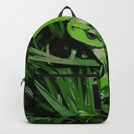Little green frog Backpack
