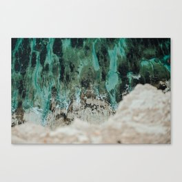 Marble water Canvas Print