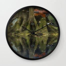 Living Roots Wall Clock