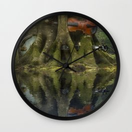 Living Roots Wall Clock