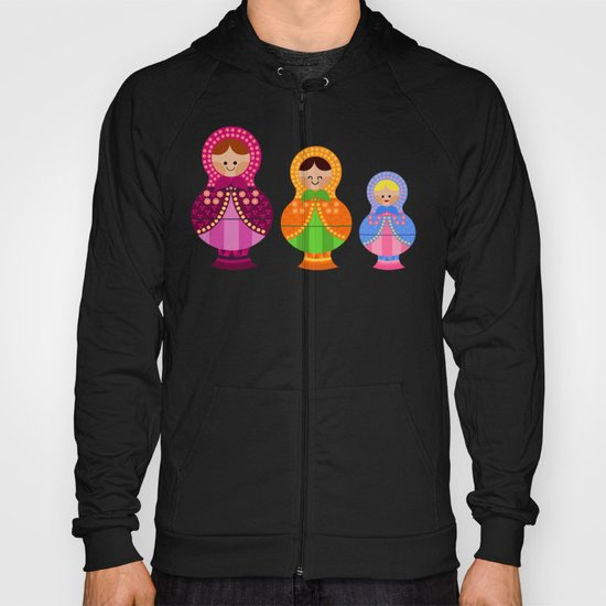 Matrioskas 2 (Russian dolls 2) Hoody