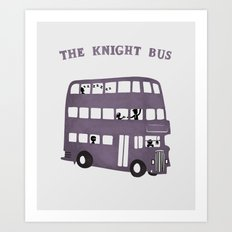 The Knight Bus Art Print