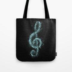 Splash music Tote Bag