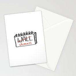 Wall shmall Stationery Cards