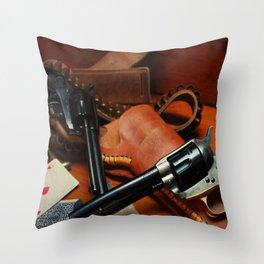 45 Colt Throw Pillow
