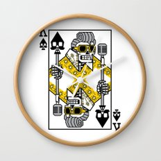 Dead King Card Wall Clock