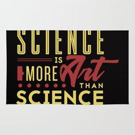 Science is art Rug
