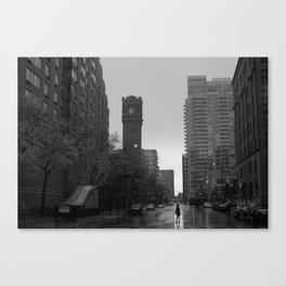 A City Life Canvas Print