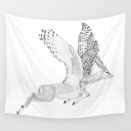 Combinations #7 - Antelope / Owl (FINAL) Wall Tapestry