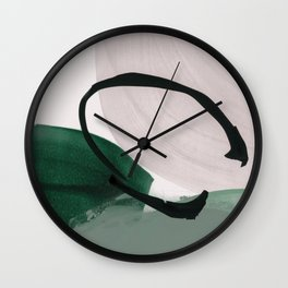 minimalist painting 01 Wall Clock