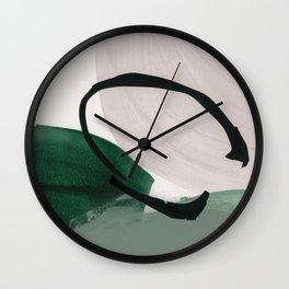minimalist painting 01 Wall Clock