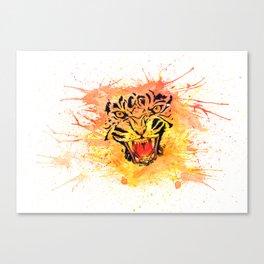 Colorful Tiger Canvas Print