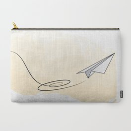 Paperplane Carry-All Pouch
