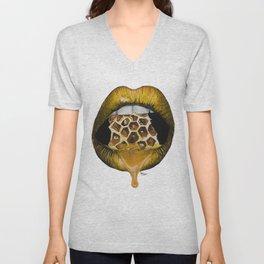 Honeyed Whispers Unisex V-Neck