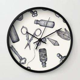 Knick Knack Pattern Wall Clock