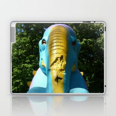 Stone elephant. Laptop & iPad Skin