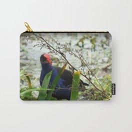 Swamp Hen - Porphyrio porphyrio melanotus Carry-All Pouch