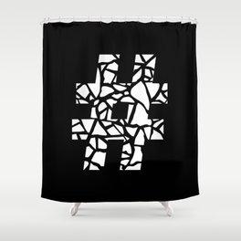 Hashtag #2 Shower Curtain