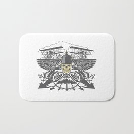 World War II Bath Mat