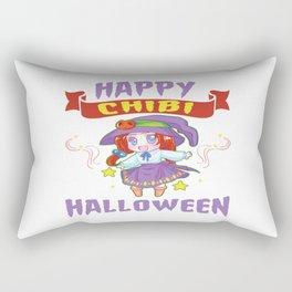 Halloween Chibi Anime Manga Otaku Kawaii Mangaka Rectangular Pillow