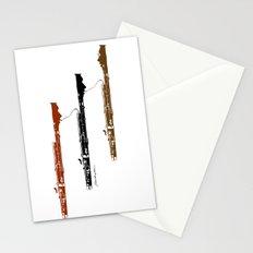 Bassoon Trio  Stationery Cards