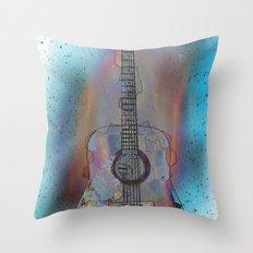 Ziggy Stardust Throw Pillow