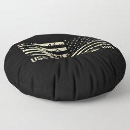 USS Kidd Floor Pillow