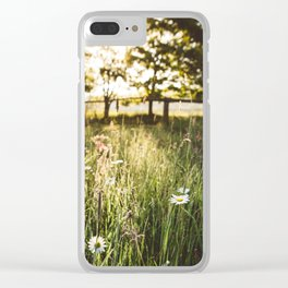 At your fingertips Clear iPhone Case