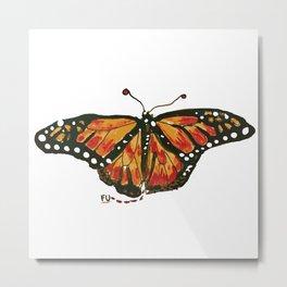 fu butterfly Metal Print