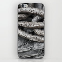 Vintage Chains and Slate iPhone Skin