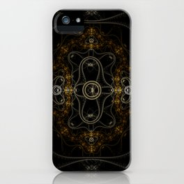 Fractal Art - Fading iPhone Case